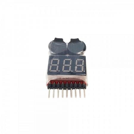 Testeur de batteries LCD