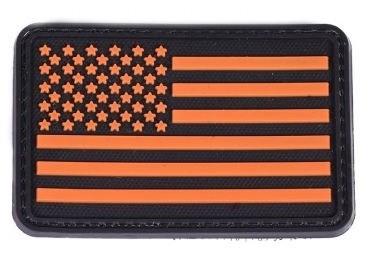 Patch Américain (Orange)