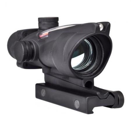 Optique RED DOT Black (Fibre optic)