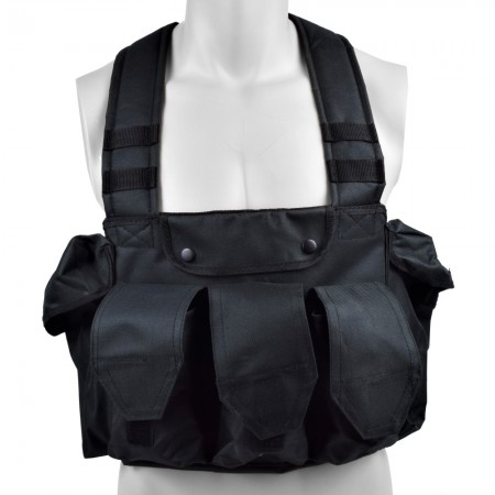 Royal tactical vest noir type sniper