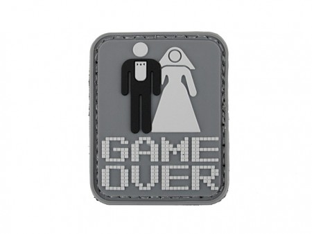 Patch Game Over (PVC)